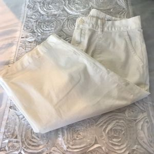 Gap White Shorts Size 10 #3